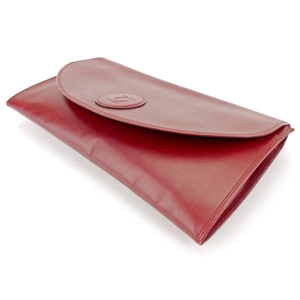 カルティエ Cartier バッグ クラッチバッグ マストライン ボルドー レディース メンズ 中古 Bag