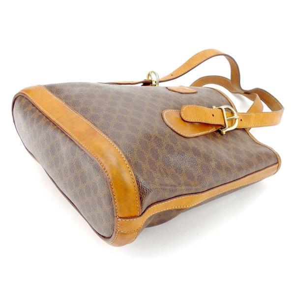 セリーヌ Celine バッグ トートバッグ マカダム ブラウン ベージュ ゴールド レディース メンズ  Bag