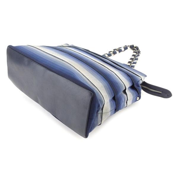 フェラガモ Ferragamo バッグ トートバッグ ヴァラ金具 ブルー レディース 中古 Bag