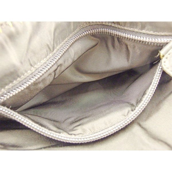 プラダ Prada バッグ ハンドバッグ ブラウン ゴールド レディース メンズ  Bag