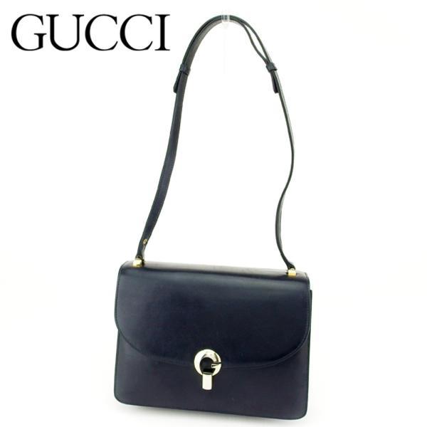 ac28ec0d3e74 グッチ Gucci バッグ ショルダーバッグ ネイビー レディース 中古 Bag|branddepot-tokyo ...