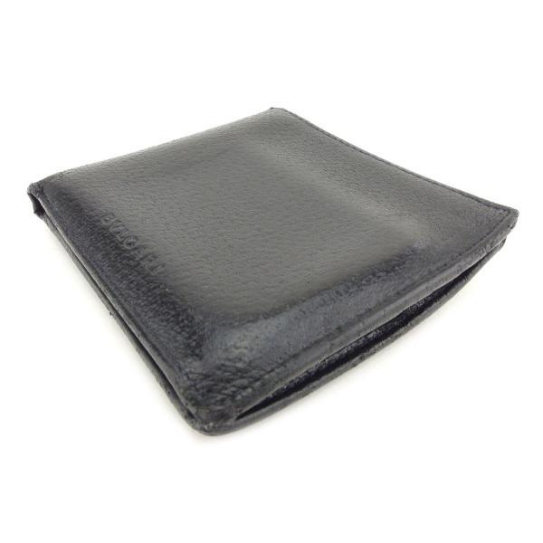 ブルガリ 二つ折り 財布  ロゴ BVLGARI 中古|branddepot-tokyo|03