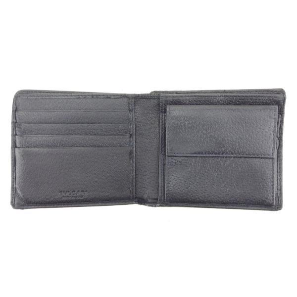 ブルガリ 二つ折り 財布  ロゴ BVLGARI 中古|branddepot-tokyo|05