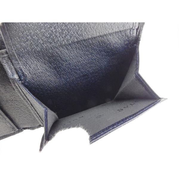 ブルガリ 二つ折り 財布  ロゴ BVLGARI 中古|branddepot-tokyo|07