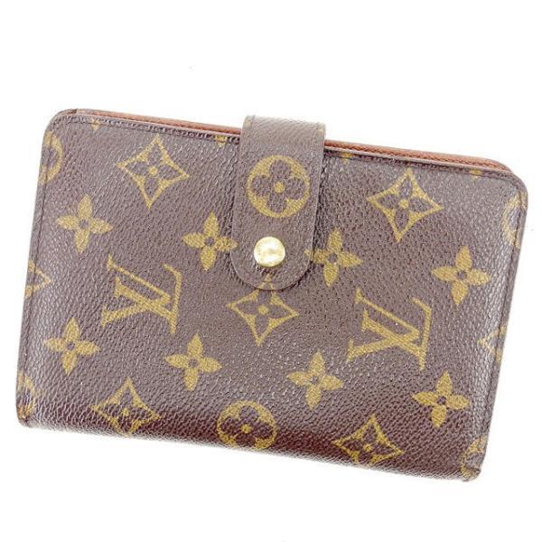 ルイヴィトン Louis Vuitton 財布 二つ折り財布 モノグラム ポルトパピエジップ レディース メンズ 中古|branddepot-tokyo
