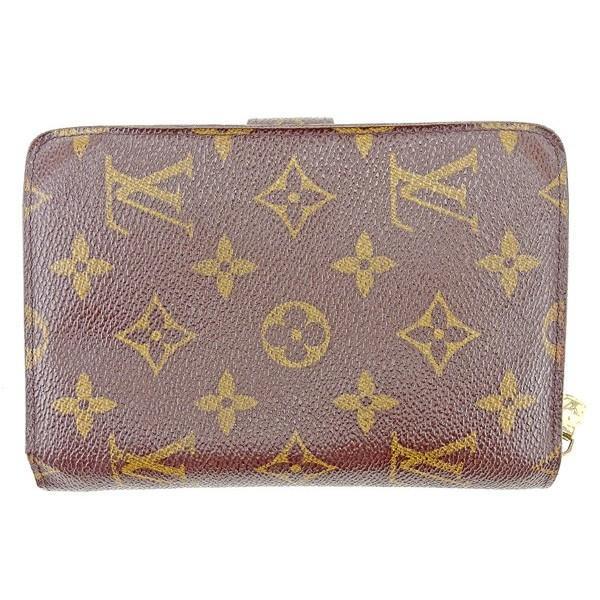ルイヴィトン Louis Vuitton 財布 二つ折り財布 モノグラム ポルトパピエジップ レディース メンズ 中古|branddepot-tokyo|02