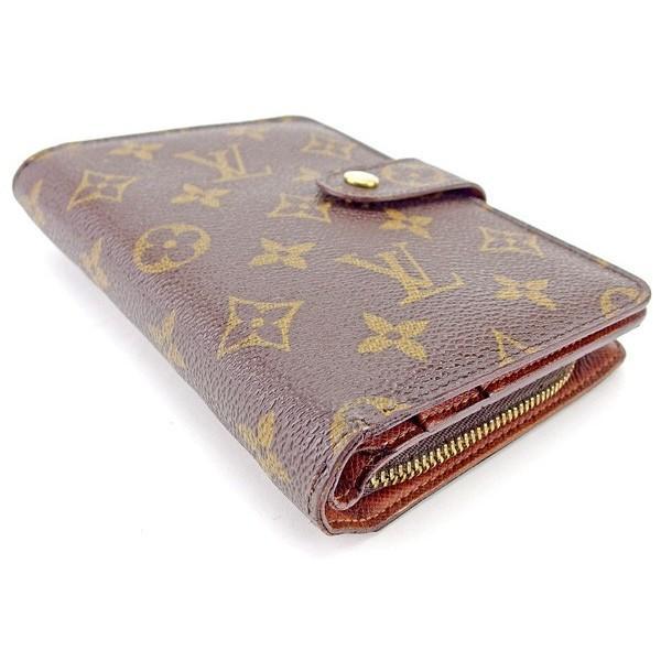 ルイヴィトン Louis Vuitton 財布 二つ折り財布 モノグラム ポルトパピエジップ レディース メンズ 中古|branddepot-tokyo|03