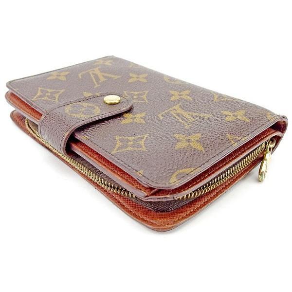 ルイヴィトン Louis Vuitton 財布 二つ折り財布 モノグラム ポルトパピエジップ レディース メンズ 中古|branddepot-tokyo|04
