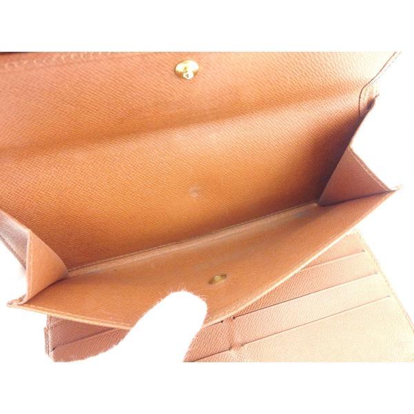 ルイヴィトン Louis Vuitton 財布 長財布 モノグラム ポルトトレゾールインターナショナル レディース メンズ 中古 branddepot-tokyo 07