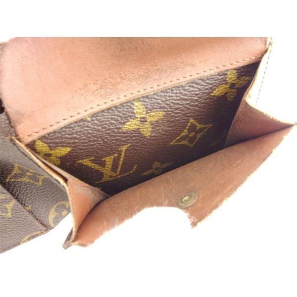 ルイ ヴィトン Louis Vuitton 二つ折り 財布 廃盤レア レディース メンズ No.140 モノグラム 中古 ヴィンテージ 訳あり T8193|branddepot-tokyo|08
