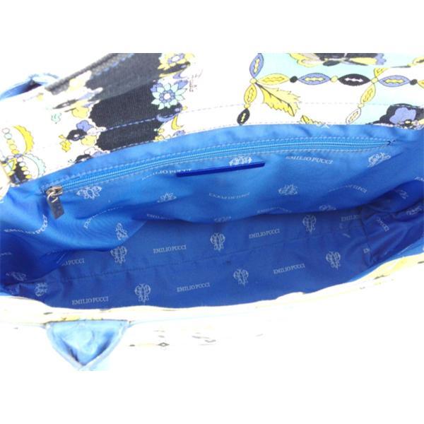 エミリオ プッチ EMILIO PUCCI トートバッグ トート ショルダーバッグ レディース フラワー柄 中古 人気 T8206