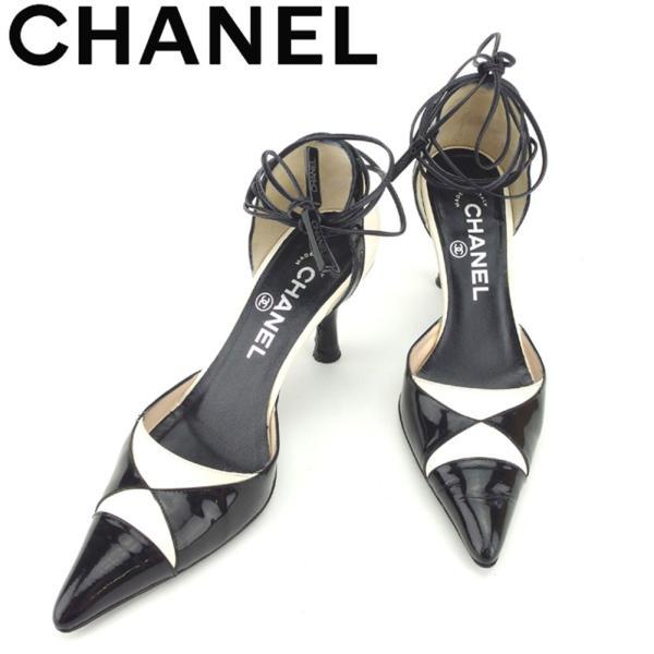 シャネル CHANEL パンプス シューズ 靴 レディース #36 中古 人気 セール T8455