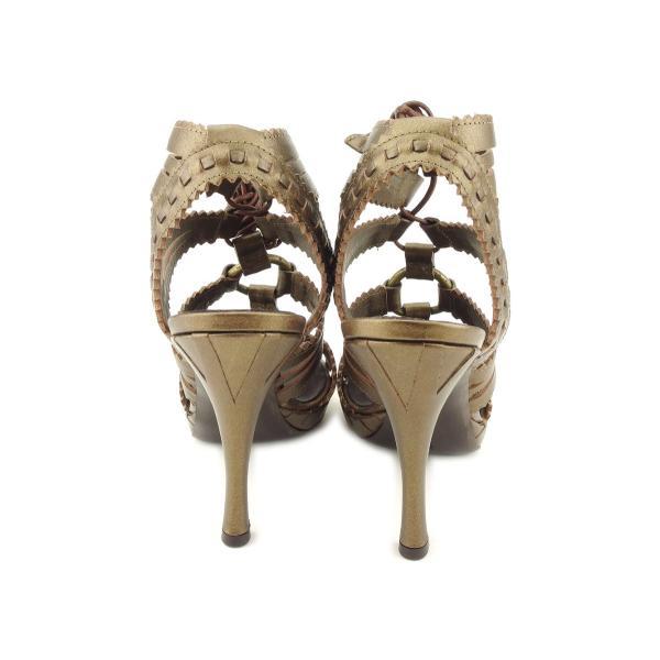 ダナ キャラン Donna Karan サンダル シューズ 靴 レディース #36ハーフ 中古