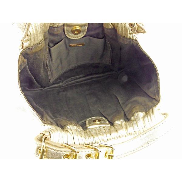 ミュウミュウ miu miu ハンドバッグ パーティーバッグ レディース プリーツ  人気 セール T9362