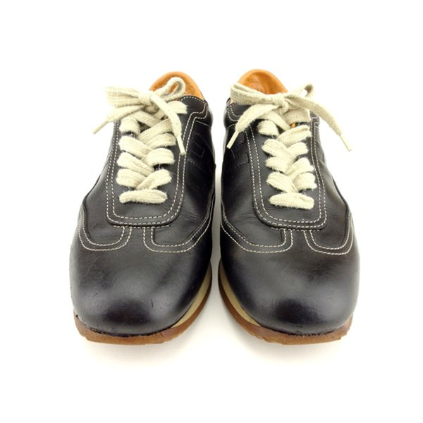 エルメス HERMES スニーカー シューズ 靴 レディース ♯38ハーフ ローカット クイック 中古 branddepot-tokyo 02