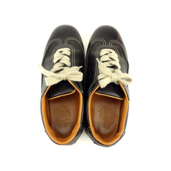 エルメス HERMES スニーカー シューズ 靴 レディース ♯38ハーフ ローカット クイック 中古 branddepot-tokyo 03