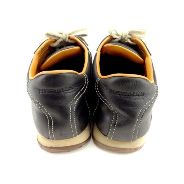 エルメス HERMES スニーカー シューズ 靴 レディース ♯38ハーフ ローカット クイック 中古 branddepot-tokyo 04