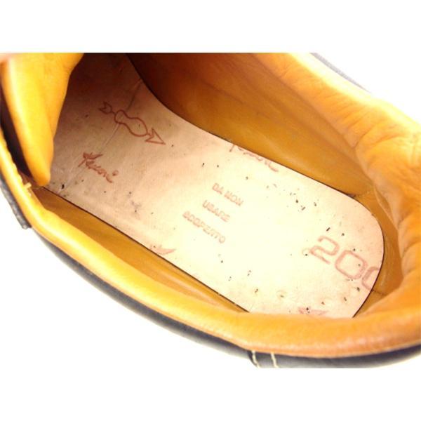 エルメス HERMES スニーカー シューズ 靴 レディース ♯38ハーフ ローカット クイック 中古 branddepot-tokyo 08