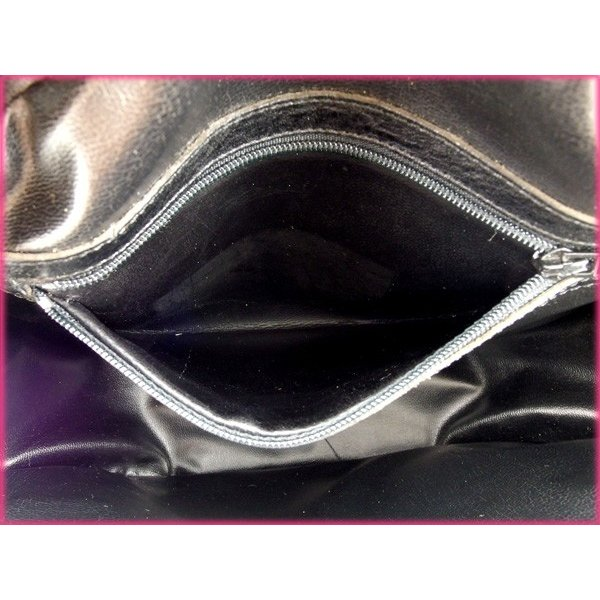 ポリーニ バッグ ハンドバッグ パイソン型押し ブラック イエロー レディース 未使用品  Bag