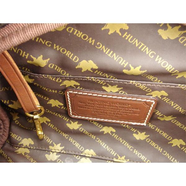 ハンティングワールド HUNTING WORLD クラッチバッグ セカンドバッグ サブバッグ レディース メンズ サファリトゥデイ 中古 人気 セール C3270