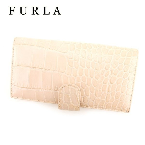c2ad91f9ffb5 フルラ FURLA 長財布 ファスナー付き 長財布 レディース クロコダイル型押し 人気の画像