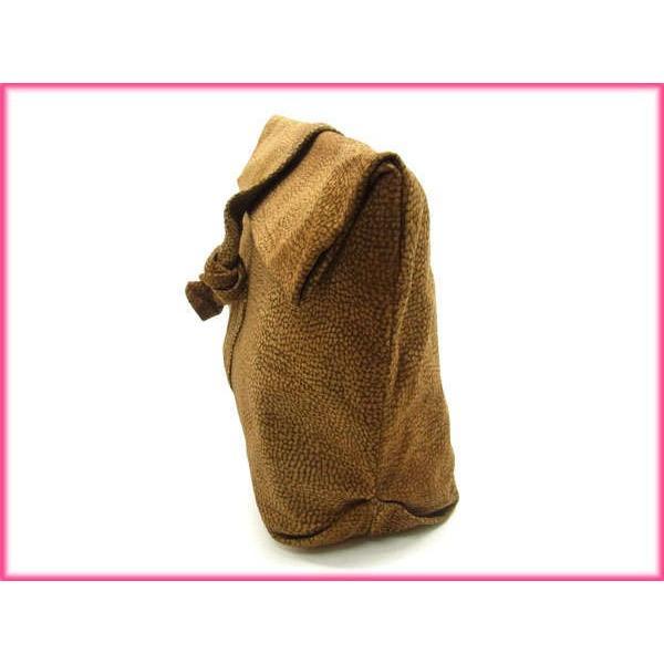 ボルボネーゼ Borbonese バッグ クラッチバッグ ブチ柄 レディース  Bag