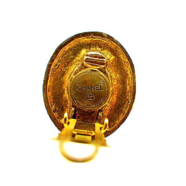 シャネル Chanel イヤリング パール パールホワイト ゴールド レディース 中古 Earrings