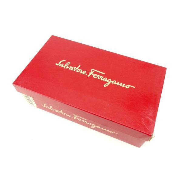 サルヴァトーレ フェラガモ Salvatore Ferragamo サンダル シューズ 靴 レディース ♯5D メッシュ編みバンド 中古