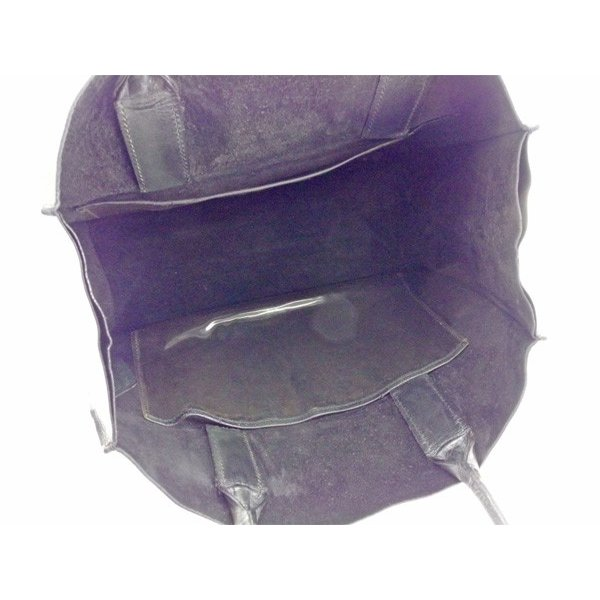 ミュウミュウ Miu Miu バッグ トートバッグ ロゴ ブラック レディース メンズ 中古 Bag