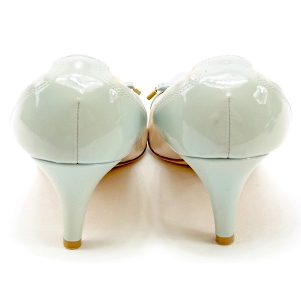 バリー BALLY パンプス シューズ 靴 レディース リボンモチーフ 中古 人気 セール L2744