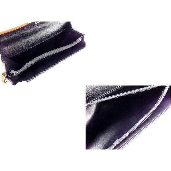 ヴァレンティノ Valentino バッグ クラッチバッグ ロゴ ブラック ブラウン ゴールド レディース  Bag