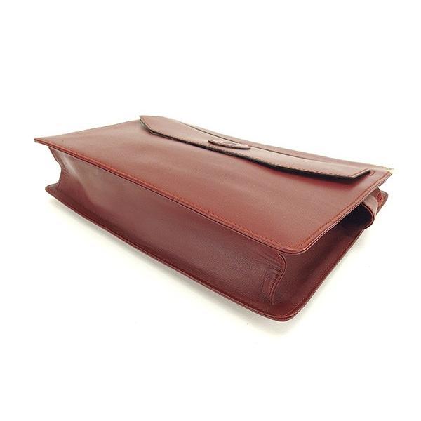 カルティエ Cartier バッグ クラッチバッグ マストライン ボルドー ゴールド レディース  Bag