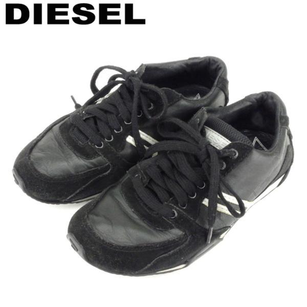 ディーゼル DIESEL スニーカー シューズ 靴 レディース ♯22.5 ローカット 中古 branddepot