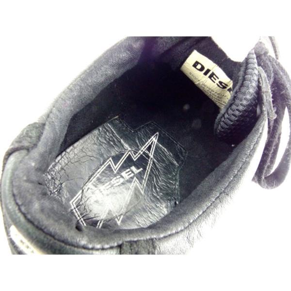 ディーゼル DIESEL スニーカー シューズ 靴 レディース ♯22.5 ローカット 中古 branddepot 09