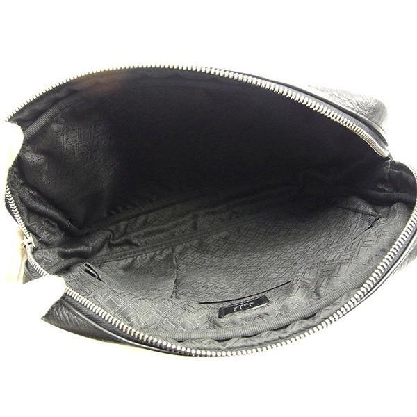 ダンヒル Dunhill バッグ クラッチバッグ ブラック シルバー レディース メンズ 中古 Bag