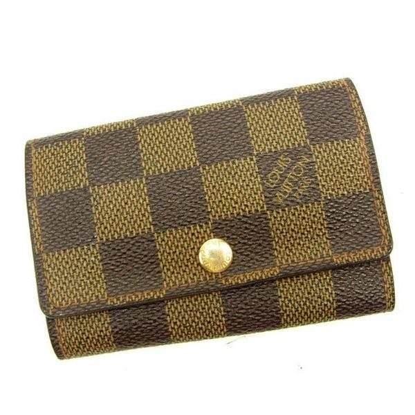ルイヴィトン Louis Vuitton キーケース 6連キーケース レディース ミュルティクレ6 N62630 ダミエ|branddepot