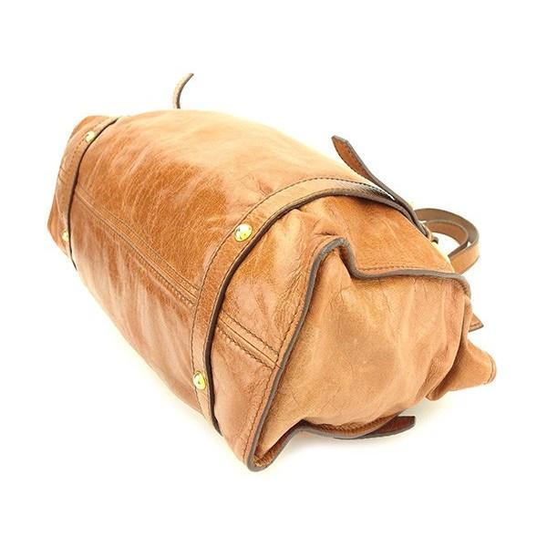 ミュウミュウ Miu Miu バッグ トートバッグ リボンモチーフ ブラウン レディース 中古 Bag