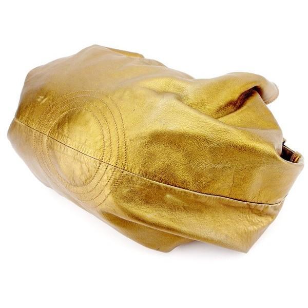 ロエベ Loewe バッグ ハンドバッグ ナッパアイレ アナグラムマーク ブロンズゴールド レディース  Bag
