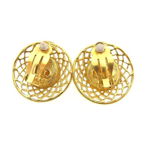 シャネル Chanel イヤリング ホワイト ゴールド レディース 中古 Earrings
