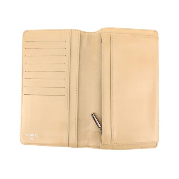 シャネル CHANEL 長財布 ファスナー付き長財布 レディース アイコンライン 中古 人気 セール T8415