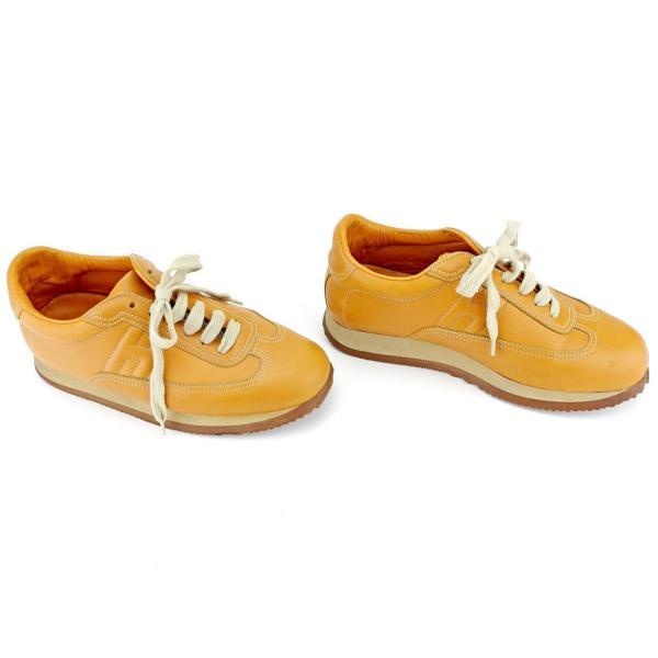 エルメス HERMES スニーカー シューズ 靴 レディース #37 中古 人気 セール T9572