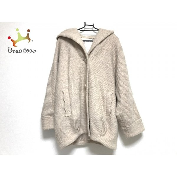 リズリサ LIZLISA コート サイズ0 XS レディース ベージュ ショート丈/冬物 新着 20200916|brandear