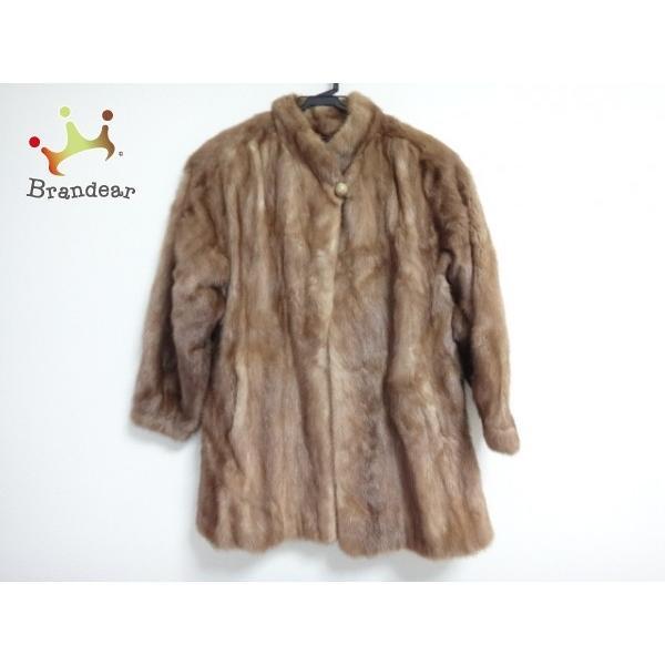 マルヴォワジー Malvoisie コート サイズ11 M レディース ブラウン 冬物/ファー           スペシャル特価 20190223|brandear