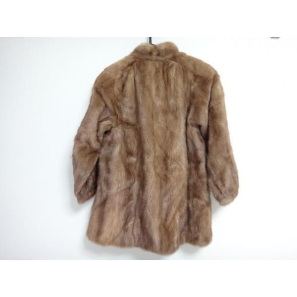 マルヴォワジー Malvoisie コート サイズ11 M レディース ブラウン 冬物/ファー           スペシャル特価 20190223|brandear|02