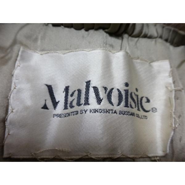 マルヴォワジー Malvoisie コート サイズ11 M レディース ブラウン 冬物/ファー           スペシャル特価 20190223|brandear|03