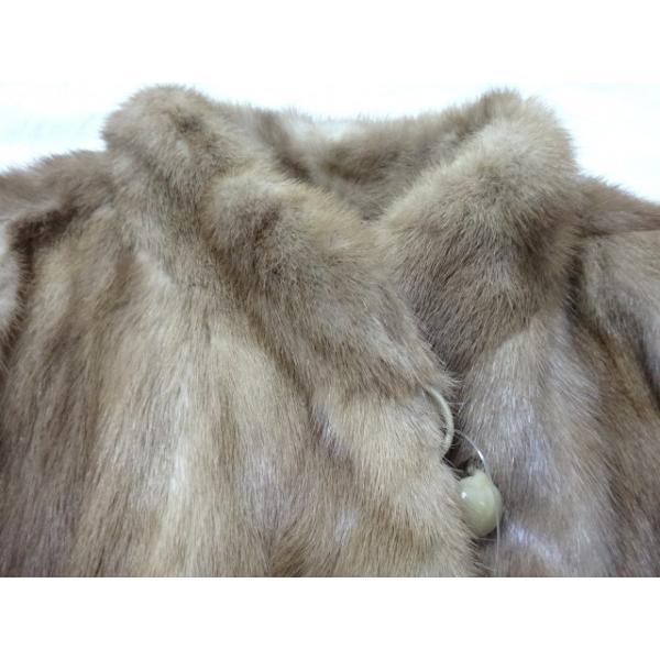マルヴォワジー Malvoisie コート サイズ11 M レディース ブラウン 冬物/ファー           スペシャル特価 20190223|brandear|04