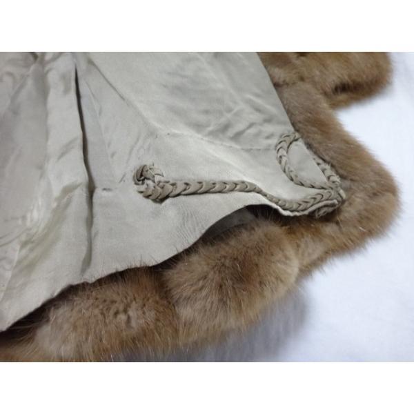 マルヴォワジー Malvoisie コート サイズ11 M レディース ブラウン 冬物/ファー           スペシャル特価 20190223|brandear|05