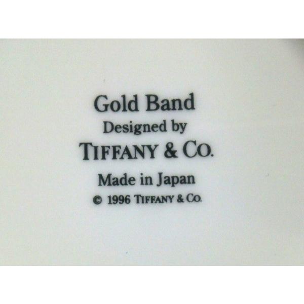 ティファニー TIFFANY&Co. マグカップ 新品同様 Gold Band 白×ゴールド 2個セット 陶器 新着 20190726|brandear|03