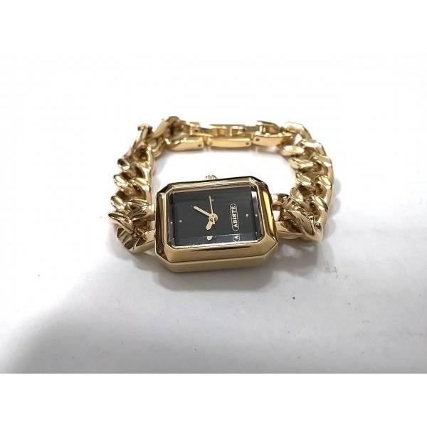アビステ ABISTE 腕時計 - レディース 黒  値下げ 20190402