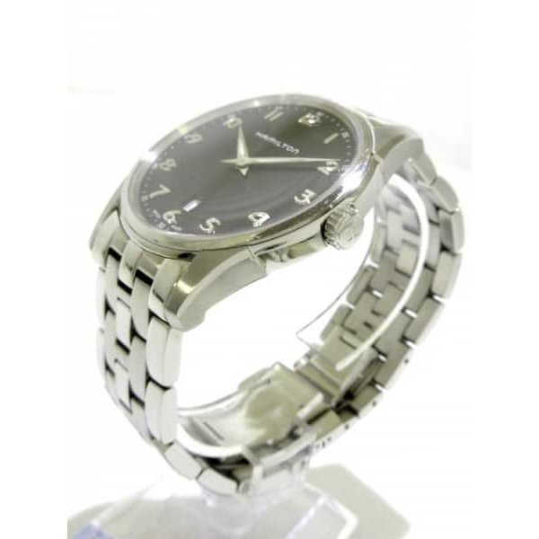 ハミルトン HAMILTON 腕時計 ジャズマスターシンライン H385111 メンズ 黒  値下げ 20190303|brandear|02